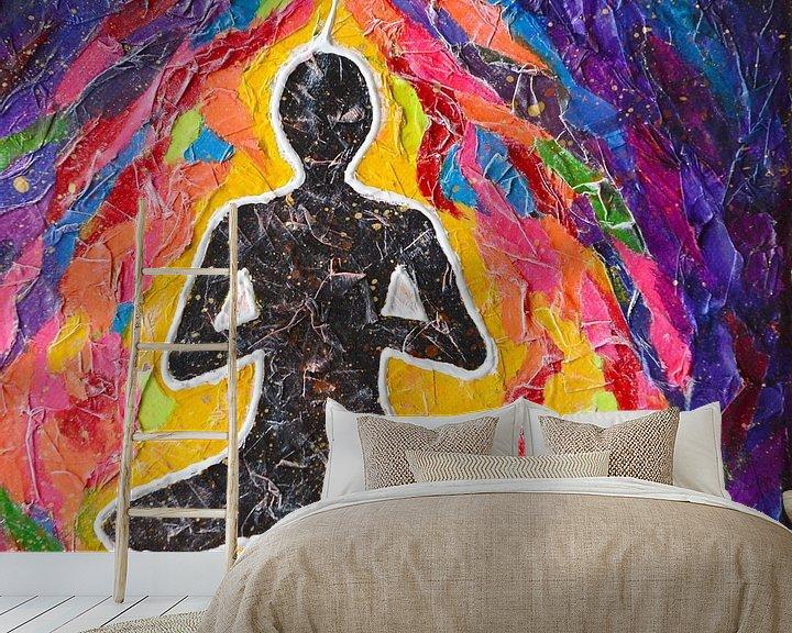 Beispiel fototapete: Meditation von Lida Bruinen