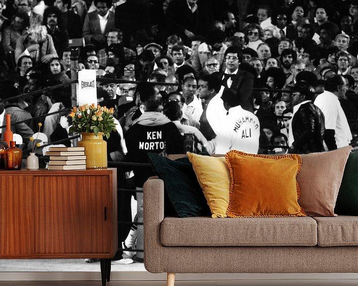 Sfeerimpressie behang: Ali vs Ken van Jaap Ros