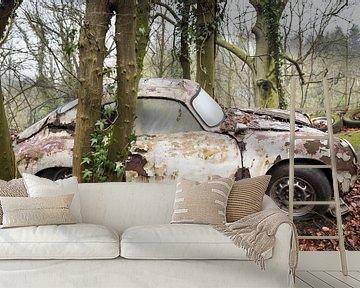Klassischer Porsche Urbex wagen von Ger Beekes
