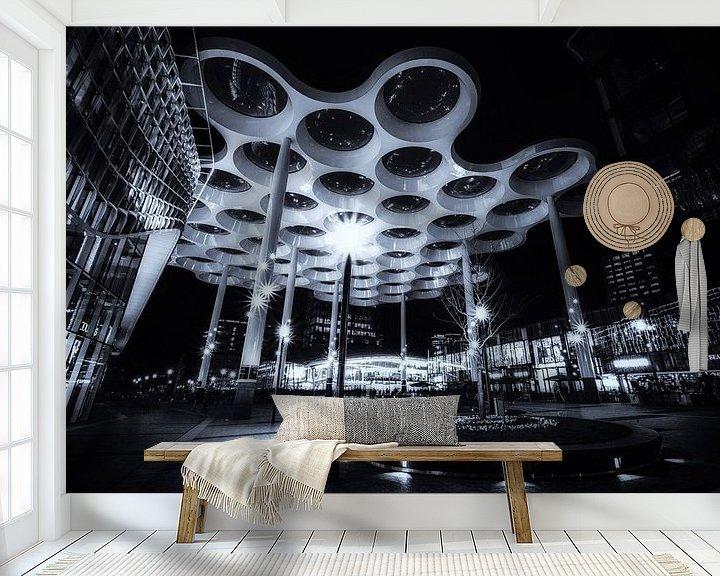 Sfeerimpressie behang: Starry Night van Cho Tang