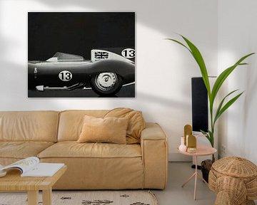Jaguar Typ D 1956 S/W