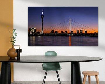 Skyline de Düsseldorf, Allemagne sur Alexander Ludwig