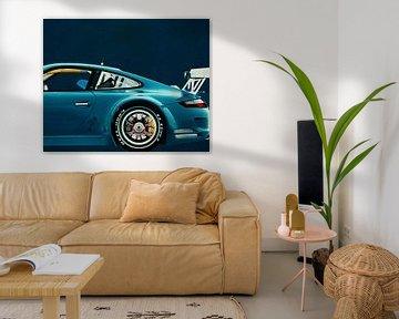 Porsche GT3 RS Cup 2008 sur Jan Keteleer