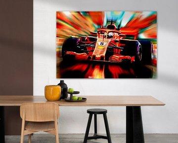 Sebastian Vettel #5 Season 2018 von Jean-Louis Glineur alias DeVerviers