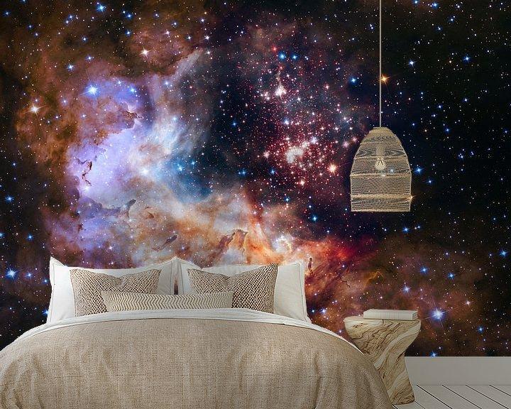 Sfeerimpressie behang: Hubble Photo,s van Brian Morgan