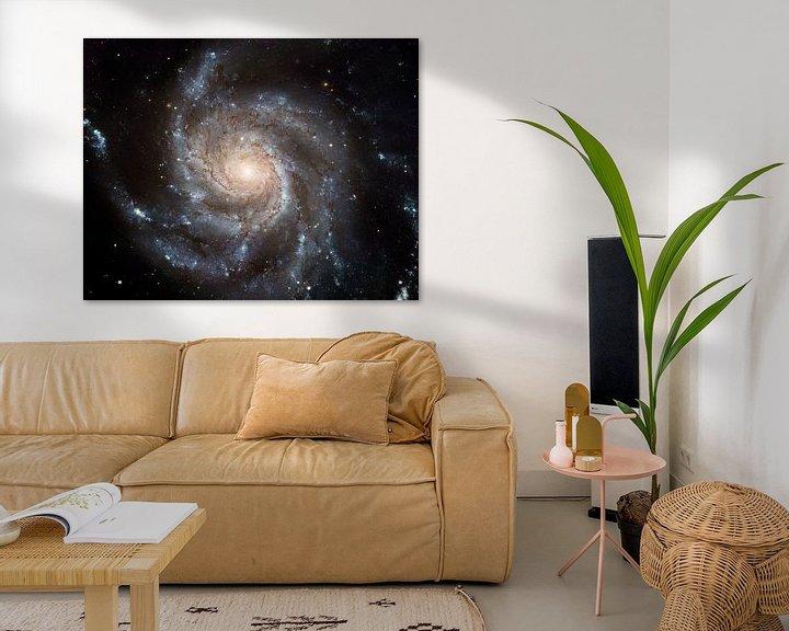 Sfeerimpressie: Hubble Photo Of Space van Brian Morgan