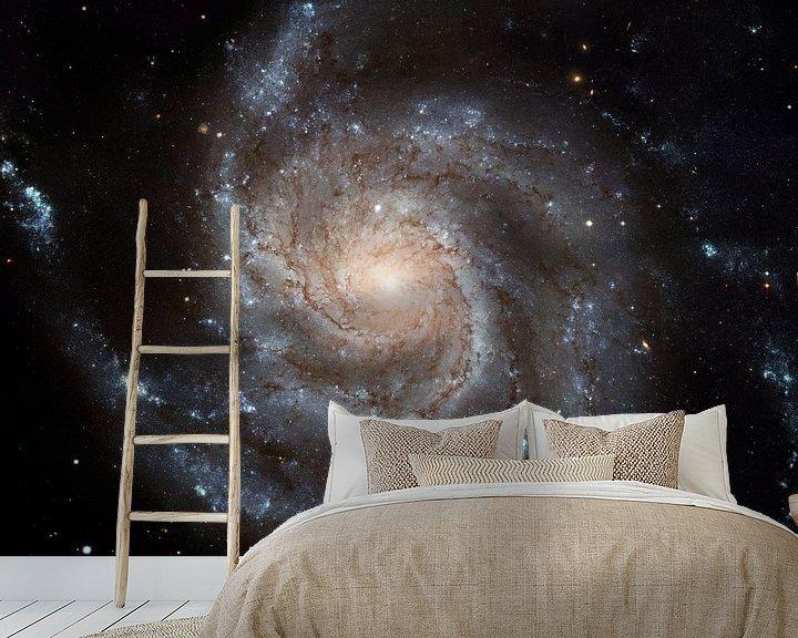 Sfeerimpressie behang: Hubble Photo Of Space van Brian Morgan