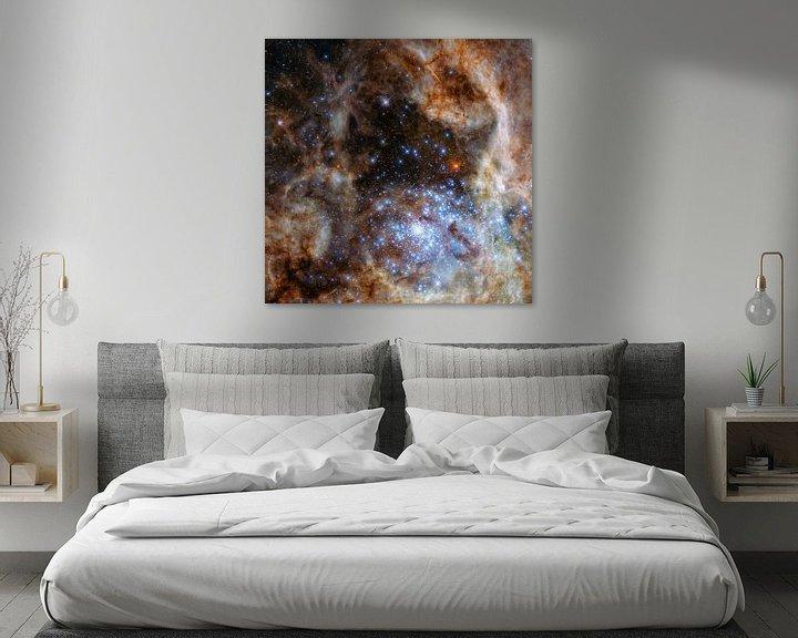 Sfeerimpressie: Hubble Space Telescope Photo. van Brian Morgan