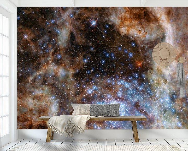 Sfeerimpressie behang: Hubble Space Telescope Photo. van Brian Morgan