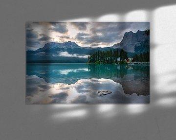 Emerald Lake, Yoho National Park, British Columbia, Canada van Alexander Ludwig