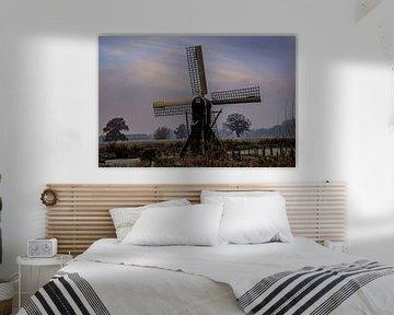 Een oude molen. van Jeroen Beemsterboer