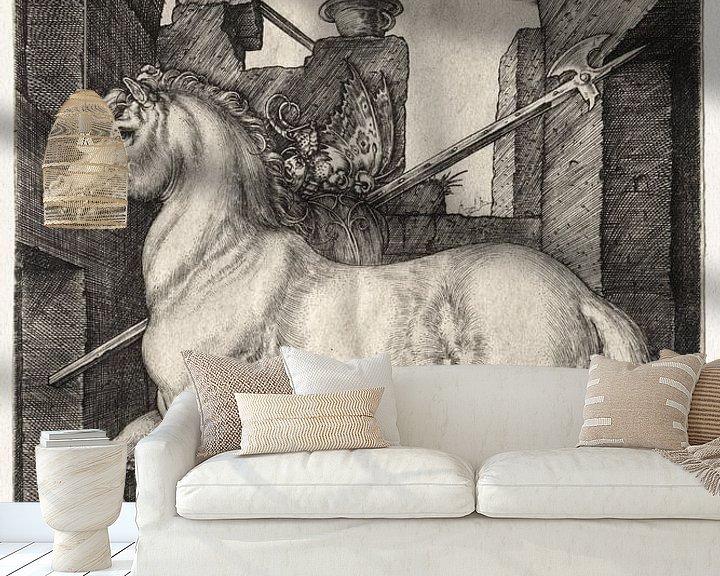 Beispiel fototapete: Das kleine Pferd, Albrecht Dürer von De Canon