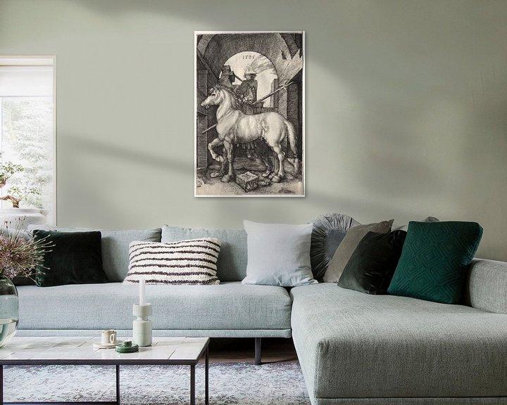 Beispiel: Das kleine Pferd, Albrecht Dürer von De Canon
