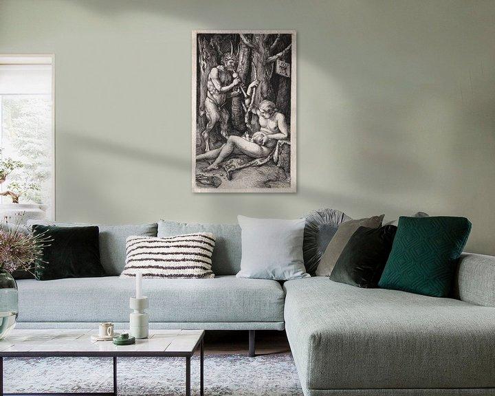 Sfeerimpressie: Satyr-familie, Albrecht Dürer van De Canon