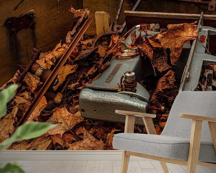 Beispiel fototapete: DDR Nähmaschine 2 von Johnny Flash