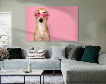 Roze bril van Elles Rijsdijk