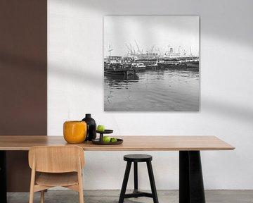 De Waalhaven Rotterdam juni 1967 von Rob van der Teen