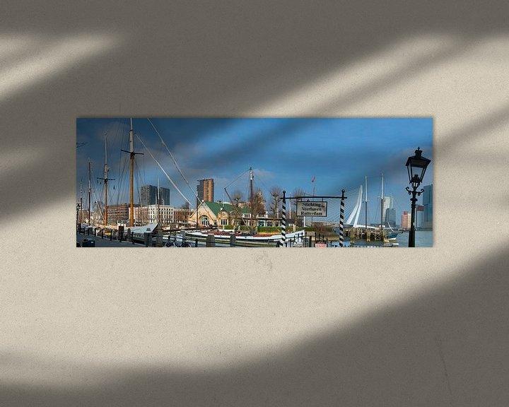Beispiel: Fährhafen Rotterdam von Fred Leeflang