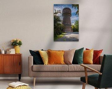 Watertoren in Delft van Fred Leeflang