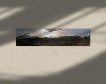 Bergen in Iran van Daan Kloeg