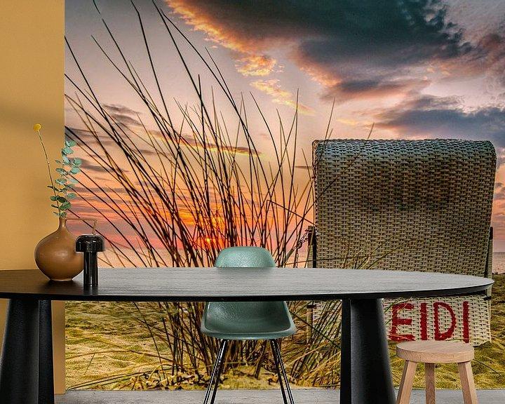Sfeerimpressie behang: Oostzee Heidi van Johnny Flash