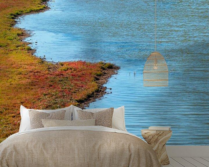 Sfeerimpressie behang: zeekraal bij Zierikzee van Ria Bloemendaal