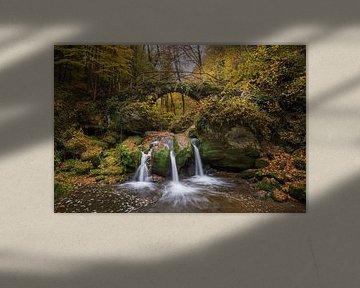 Herfst - Waterval - Luxemburg - Mullerthal van Pixelatestudio Fotografie