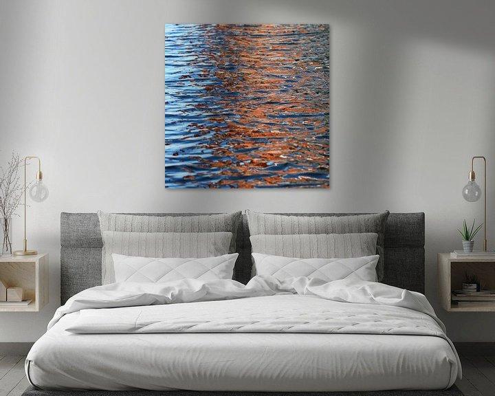 Sfeerimpressie: Reflectie in het water van Rob Hendriks