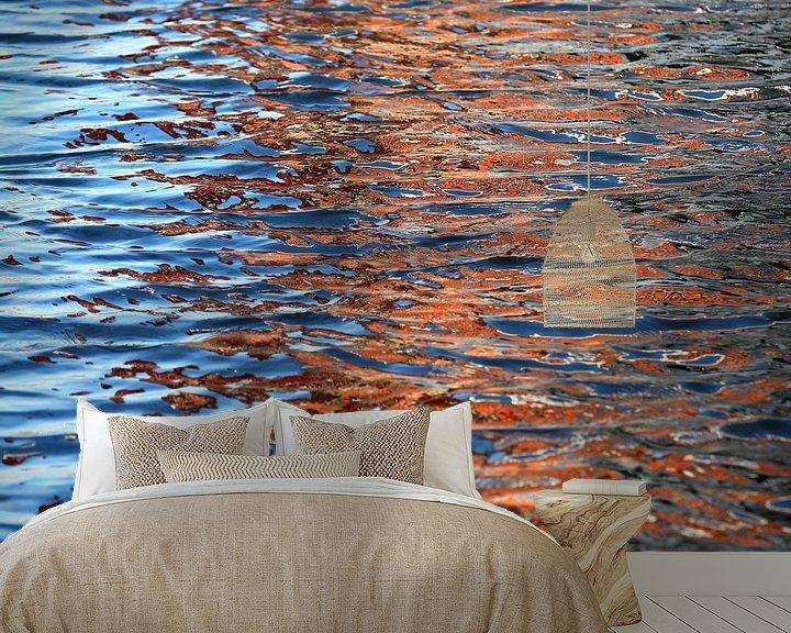 Sfeerimpressie behang: Reflectie in het water van Rob Hendriks