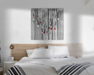 Tulpen für ein Fenster von Marijke Keijser