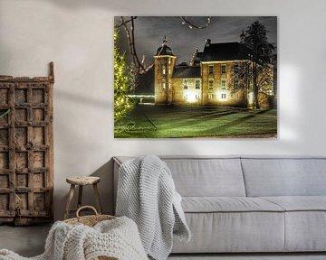 Burg Ruurlo bei Nacht von Eddy Boerman