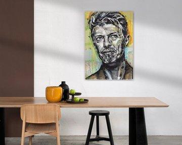 David Bowie Porträt von Jos Hoppenbrouwers