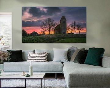 Sonnenaufgang Mauritius Kirche in Marsum