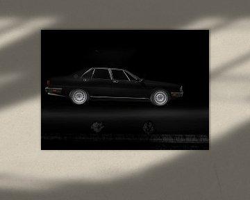 Maserati Quattroporte III flying black von aRi F. Huber
