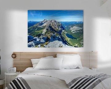 """Paysage de montagne """"Vue du Gosaukamm"""". sur Coen Weesjes"""
