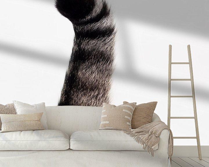 Sfeerimpressie behang: Kattenstaart van Anita Visschers