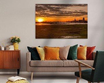 Stadsfront Kampen vanaf de Pijperstaart van Fotografie Ronald