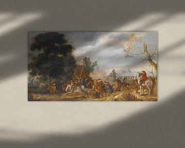 Das Scharmützel, Esaias van de Velde