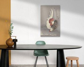 Hahn und Huhn aus Ohara Koson