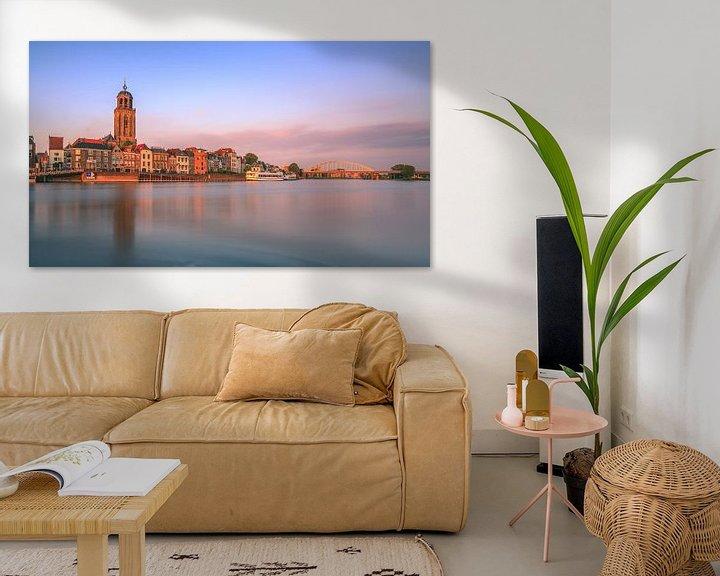 Sfeerimpressie: Deventer aan de IJssel in avondlicht van Henk Meijer Photography