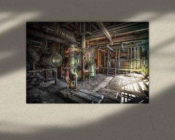 Verlassene Industrie von Karel Ton
