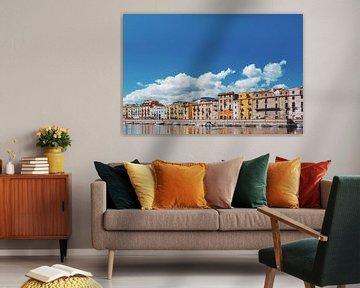 Städtische Peripherie von Bosa, Sardinien von Tom Rijpert