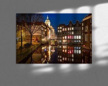 Le quartier rouge d'Amsterdam