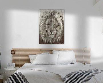 Lion Grey van Atelier Paint-Ing
