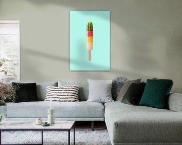 Kaktus Eis von Jonas Loose