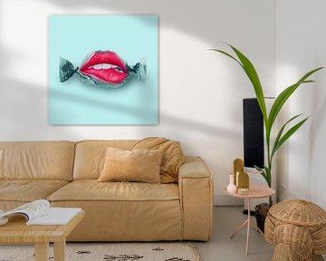 Bonbon Lippen von Jonas Loose