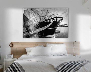 Vissersboot Scheveningen van Jørgen Geers