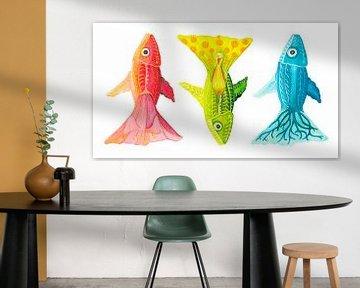 Drei Fische? von Edith van Zutven
