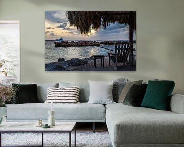 Relaxen in Curacao van Kimberly Lans