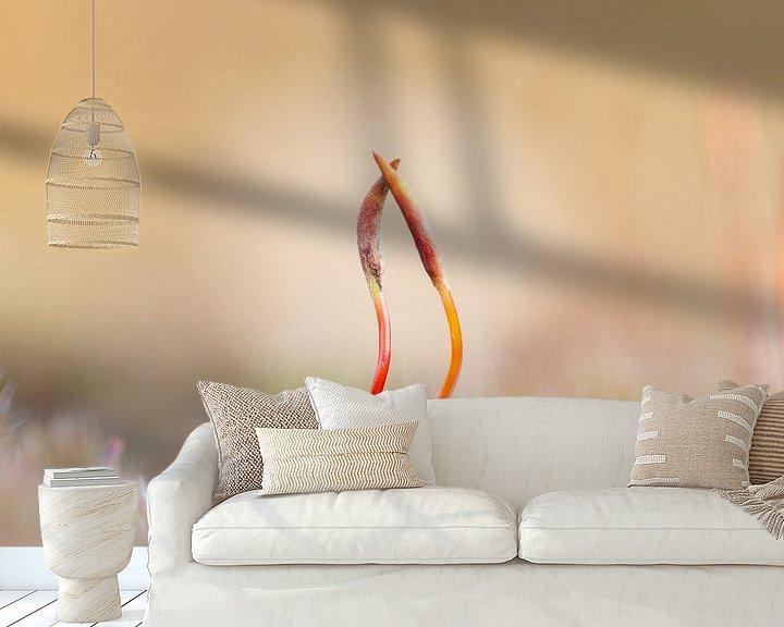 Sfeerimpressie behang: it takes two to tango 1 van Ria Bloemendaal